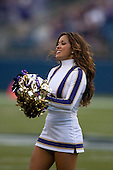 Sept 01, 2012:  Washington cheerleader Leilani Borst against San Diego State.  Washington defeated San Diego State 21-12 at CenturyLink Field in Seattle, Washington...