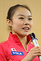 Yuka Endo, .February 28, 2012 - Rhythmic Gymnastics : .Sebastian Coe LOCOG Chairman inspected NTC .at National Training Center, Tokyo, Japan. .(Photo by Daiju Kitamura/AFLO SPORT) [1045]