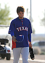Yu Darvish (Rangers),.FEBRUARY 21, 2012 - MLB : New Texas Rangers pitcher Yu Darvish of Japan during the team's spring training in Surprize, Arizona, United States..(Photo by AFLO)