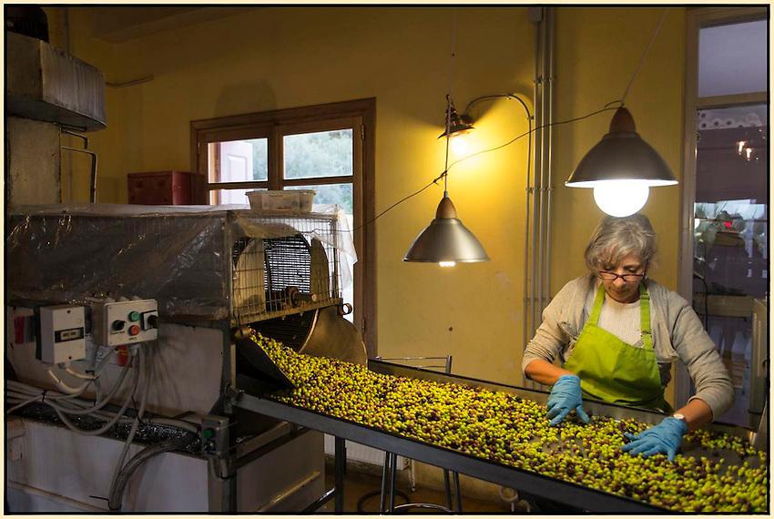 Olive Press in Crete