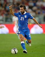 Fussball International  WM Qualifikation 2014   10.09.2013 Italien - Tschechien Andrea Pirlo (Italien) am Ball