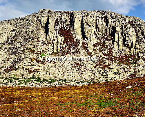 Holyhead Mountain, Holyhead, Anglesey. Iron Age hillfort of Caer y Twr. Wales, UK. Celtic Britain published by Orion.