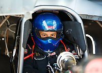 Mar 18, 2017; Gainesville , FL, USA; NHRA top alcohol funny car driver Bill Naves during qualifying for the Gatornationals at Gainesville Raceway. Mandatory Credit: Mark J. Rebilas-USA TODAY Sports