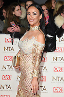 Chelsee Healey at the National TV Awards 2017 held at the O2 Arena, Greenwich, London. <br /> 25th January  2017<br /> Picture: Steve Vas/Featureflash/SilverHub 0208 004 5359 sales@silverhubmedia.com