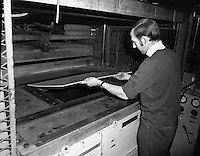 Fridge Production Line at PYE.15/03/1971