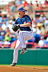 15 March 2009: Washington Nationals' pitcher Collin Balester on the mound during a Spring Training game against the Detroit Tigers at Space Coast Stadium in Viera, Florida. The Tigers shut out the Nationals 3-0 in the Grapefruit League matchup. Mandatory Photo Credit: Ed Wolfstein Photo