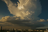 Massive Thunder Cloud over part of Manila, Philippines
