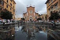 Chiesa dell' Immacolata nel quartiere storico di San Lorenzo. .Church of the Immaculate in the historic district of San Lorenzo....