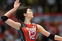 Saori Kimura (JPN), .May 26, 2012 - Volleyball : .FIVB Women's Volleyball World Final Qualification for the London Olympics 2012 .match between Japan 0-3 Russia .at Tokyo Metropolitan Gymnasium, Tokyo, Japan. .(Photo by Daiju Kitamura/AFLO SPORT) [1045]