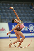 Rebeca Garcia of Spain (junior) performs at 2008 Portimao World Cup of Rhythmic Gymnastics on April 17, 2008.  (Photo by Tom Theobald).