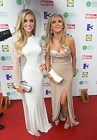 03/06/2014  <br /> Claudine Keane &amp; Joan Palmer<br /> during the Pride of Ireland awards at the Mansion House, Dublin.<br /> Photo: Gareth Chaney Collins