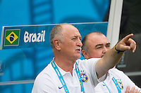Fortaleza, Brazil - Tuesday, June 17, 2014: Mexico and Brazil played to a 0-0 draw during World Cup group play at Est&aacute;dio Castel&atilde;o.<br /> <br /> 17/06/2014/MEXSPORT/OMAR MARTINEZ<br /> <br /> Estadio: Castelao, Fortaleza