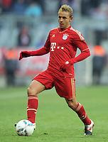 FUSSBALL   1. BUNDESLIGA  SAISON 2011/2012   21. Spieltag FC Bayern Muenchen - 1. FC Kaiserslautern       11.02.2012 Rafinha (FC Bayern Muenchen)