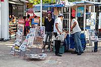 Newspaper Stand, Playa del Carmen, Riviera Maya, Yucatan, Mexico.