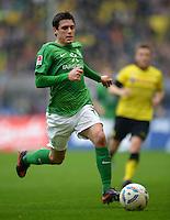 FUSSBALL   1. BUNDESLIGA   SAISON 2011/2012   26. SPIELTAG Borussia Dortmund - SV Werder Bremen               17.03.2012 Zlatko Junuzovic (SV Werder Bremen) Einzelaktion am Ball