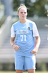 04 September 2016: North Carolina's Hannah Gardner. The University of North Carolina Tar Heels played the Villanova University Wildcats at Koskinen Stadium in Durham, North Carolina in a 2016 NCAA Division I Women's Soccer match. UNC won the game 2-0