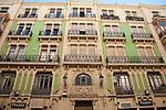 Main Building on Plaza Abad Penalva Square, Alicante
