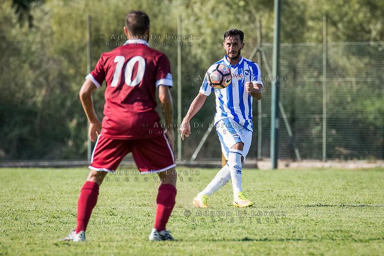 Alberto Aquilani (Pescara) during the Italian friendly football match San Nicolò vs Pescara (0-3) on September 01, 2016, in San Nicolò (TE), Italy. Photo by iSportFoto.it