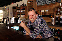 Patrick Murtaugh is the master brewer and co-founder of Hardywood Park Craft Brewery in Richmond, Va. Photo/Andrew Shurtleff