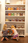 Kids shopping for candy at Sugar Sugar in Salem, Oregon.