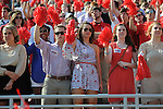Ole Miss student section vs. Auburn at Vaught-Hemingway Stadium in Oxford, Miss. on Saturday, October 13, 2012.