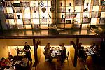 Customers enjoy dinner at Sekka Dining in Hirafu in the Niseko ski region of Hokkaido, Japan on Feb. 8 2010. The restaurant uses only locally Hokkaido produced products.