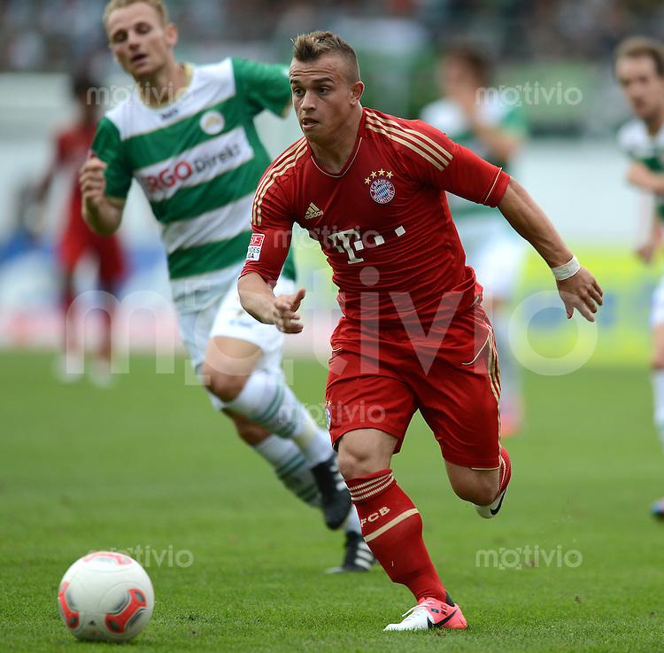 Fussball 1. Bundesliga :  Saison   2012/2013   1. Spieltag  25.08.2012 SpVgg Greuther Fuerth - FC Bayern Muenchen Xherdan Shaqiri (FC Bayern Muenchen)