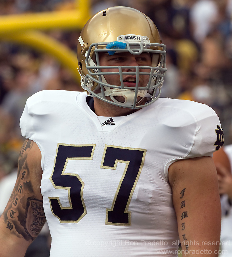 Mike Golic Jr. is a huge part of Notre Dame v Purdue 2012