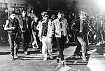 Michael Jackson 1983 film 'Beat It'.© Chris Walter.