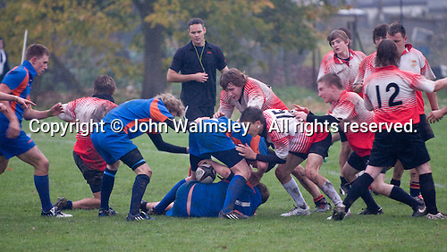 Rugby match against another local college.  Further Education College.