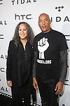 Gina Belafonte and Raoul Roach of Sankofa.org Attend TIDAL X: 1020 Amplified by HTC