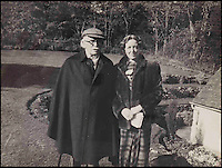 BNPS.co.uk (01202 558833)<br /> Pic: Dreweatts&amp;Bloomsbury/BNPS<br /> <br /> David Lloyd George and his secretary Frances Stevenson who he had an affair with.<br /> <br /> Never-seen-before photographs showing the former Prime Minister David Lloyd George playing with his secret lovechild have been unearthed in a remarkable archive.<br /> <br /> The Liberal politician had an affair with his secretary Frances Stevenson, who he nicknamed 'Pussy', and the pair went on to have daughter Jennifer in 1929.<br /> <br /> But Lloyd George never publicly acknowledged Jennifer as his own and even her mother went through the ruse of adopting her to further distance the former Prime Minister from the girl.<br /> <br /> The photos and letters between the pair are now coming up for sale at auctioneers Dreweatts and Bloomsbury.