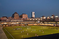 Soccer Field, Hudson River Park, Pier 40, Houston Street, Manhattan, New York City, New York, USA