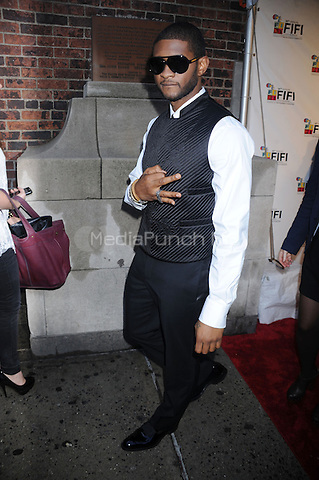 Usher at the 2010 Fifi Awards at the New York State Armory in New York City. June 10, 2010. Credit: Dennis Van Tine/MediaPunch