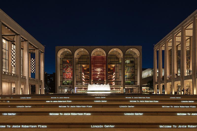 Lincoln Center<br /> New York City