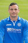 St Johnstone FC 2013-14<br /> Gary Miller<br /> Picture by Graeme Hart.<br /> Copyright Perthshire Picture Agency<br /> Tel: 01738 623350  Mobile: 07990 594431