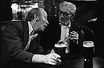 Miners enjoying a pint. South Kirkby Colliery, Yorkshire England. Coal Miners story 1979. IF YOU KNOW THE NAMES OF ANY OF THE MEN IN THESE IMAGES PLEASE LET ME KNOW, I WOULD LIKE TO BE ABLE TO PUT A NAME TO A FACE. THANKS.