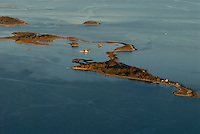 Connecticut, Sheffield Island, aerial