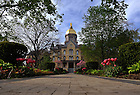Main quad, spring 2009..Photo by Matt Cashore/University of Notre Dame