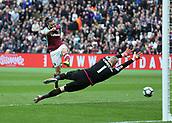 2017 Premier League Football West Ham v Leicester City Mar 18th