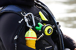 Scuba diver body equipment lake rope regulator rescue man Greifenhagen 710-6221 CD1131