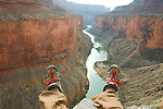 The Grand Canyon offers endless opportunity for off trail and route finding adventure.