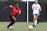 04 October 2009: Maryland's Jasmyne Spencer (3). The University of Maryland Terrapins defeated the Duke University Blue Devils 4-0 at Koskinen Stadium in Durham, North Carolina in an NCAA Division I Women's college soccer game.