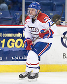 The visiting Minnesota State University-Mankato Mavericks defeated the University of Massachusetts-Lowell River Hawks 3-2 on Saturday, November 27, 2010, at Tsongas Arena in Lowell, Massachusetts.
