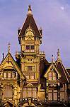 Carson Mansion built in 1885 Victorian Mansion Eureka California USA