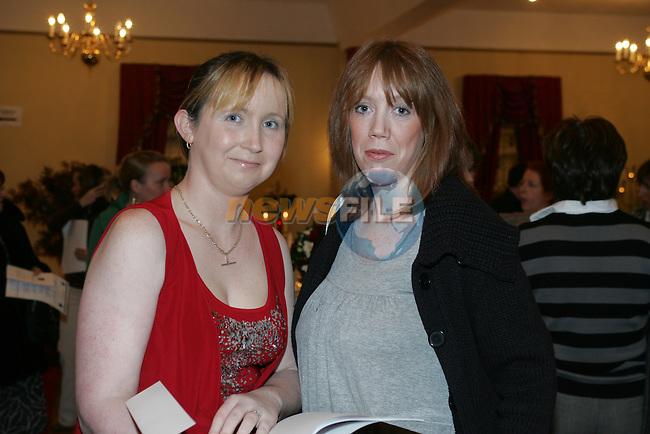 Boyne Valley Hotel Wedding Fare Tracey O'Neill and Annmarie Everitt.Photo: Fran Caffrey/ Newsfile.