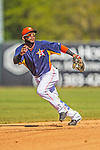 7 March 2013: Houston Astros infielder Jonathan Villar in action during a Spring Training game against the Washington Nationals at Osceola County Stadium in Kissimmee, Florida. The Astros defeated the Nationals 4-2 in Grapefruit League play. Mandatory Credit: Ed Wolfstein Photo *** RAW (NEF) Image File Available ***