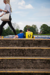 St Albans 0 Watford 5, 26/07/2014. Clarence Park, Pre Season Friendly. Pre Season friendly between St Albans City and Watford from Clarence Park Stadium. Entrance to the terracing. Watford won the game 5-0. Photo by Simon Gill.