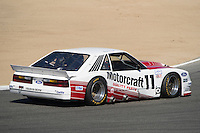 ZB at Monterey in 1985 Ford Mustang GTO