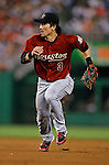 11 July 2008: Houston Astros' second baseman Kazuo Matsui in action against the Washington Nationals at Nationals Park in Washington, DC. The Nationals shut out the Astros 10-0 in the first game of their 3-game series...Mandatory Photo Credit: Ed Wolfstein Photo